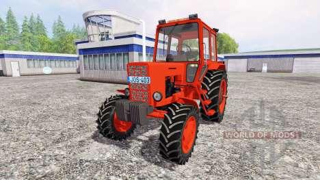 MTZ-82 [rouge] v2.0 pour Farming Simulator 2015