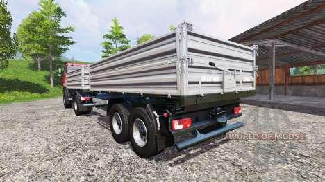 Tatra Phoenix T 158 4x4 Tipper pour Farming Simulator 2015