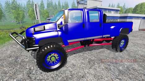 GMC C4500 TopKick pour Farming Simulator 2015