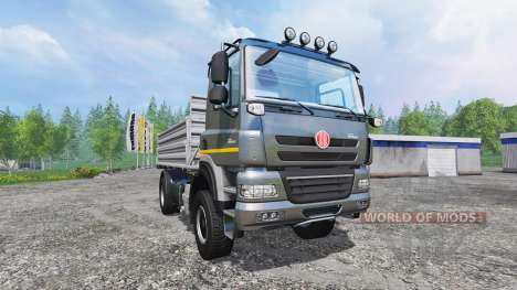 Tatra Phoenix T 158 4x4 [tipper] v1.2 pour Farming Simulator 2015