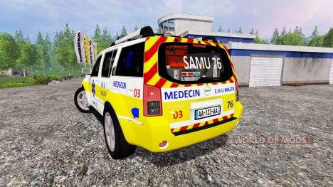 Nissan Pathfinder SAMU pour Farming Simulator 2015
