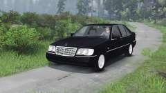 Mercedes-Benz S600 (W140)[03.03.16] für Spin Tires