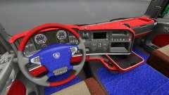 L'intérieur de Scania Leda pour Euro Truck Simulator 2