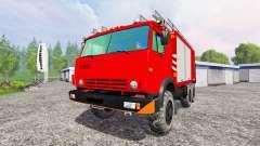 KamAZ-43114 [protection contre l'incendie]