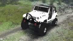 Jeep Wrangler Rubicon White [03.03.16] pour Spin Tires