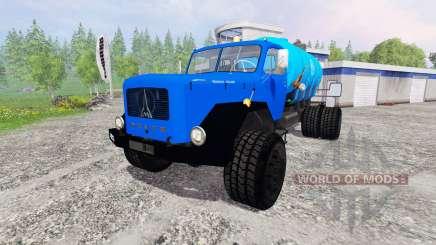 Magirus-Deutz 200D26 [water] v1.5 pour Farming Simulator 2015