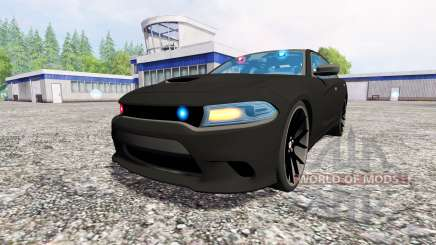 Dodge Carger Hellcat 2015 Undercover für Farming Simulator 2015