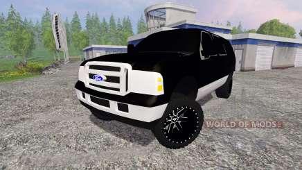 Ford Excursion für Farming Simulator 2015