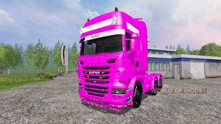 Scania R730 Topline v2.0 für Farming Simulator 2015