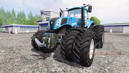 New Holland T8.435 v5.0 pour Farming Simulator 2015