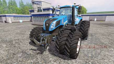 New Holland T8.435 v4.0.3 pour Farming Simulator 2015