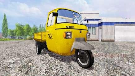 Piaggio Ape P601 Post für Farming Simulator 2015