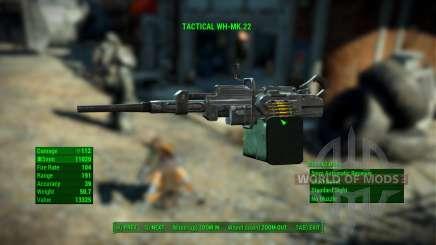 WH-Mk22 Heavy Machinegun für Fallout 4