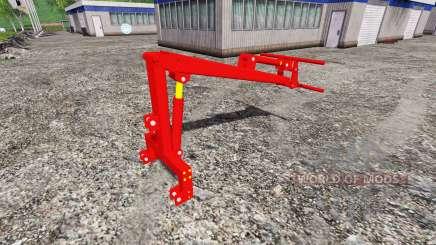 Montés à l'arrière chargeur frontal pour Farming Simulator 2015