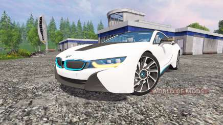 BMW i8 v1.5 pour Farming Simulator 2015