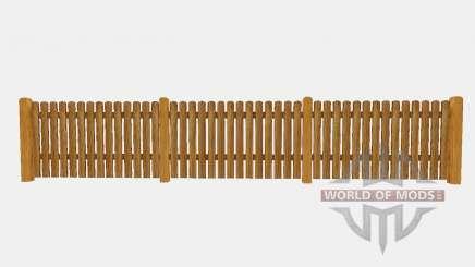 Wooden fence pour Farming Simulator 2015