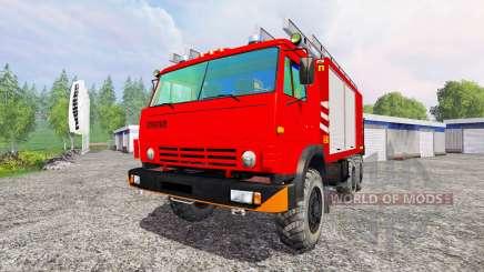 KamAZ-43114 [protection contre l'incendie] pour Farming Simulator 2015