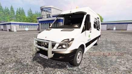 Mercedes-Benz Sprinte [service] pour Farming Simulator 2015