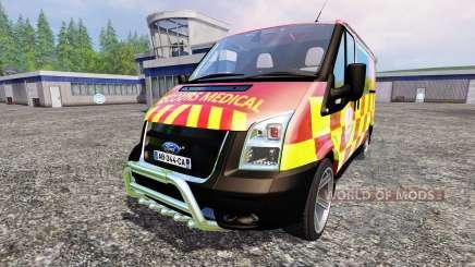 Ford Transit [secours medical] pour Farming Simulator 2015