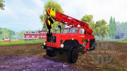 Magirus-Deutz 200D26A [firemen truck crane] pour Farming Simulator 2015