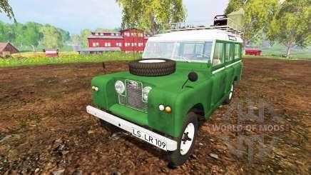 Land Rover Series IIa Station Wagon 1965 pour Farming Simulator 2015