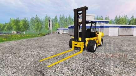 Komatsu EX50 für Farming Simulator 2015
