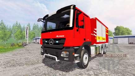Mercedes-Benz Actros Feuerwehr für Farming Simulator 2015