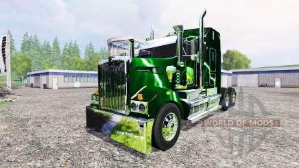 Kenworth T908 [John Deere Service] für Farming Simulator 2015