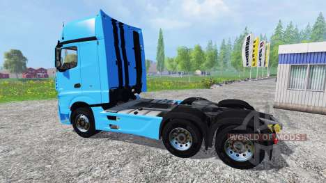 Mercedes-Benz Actros 2014 v2.0 für Farming Simulator 2015