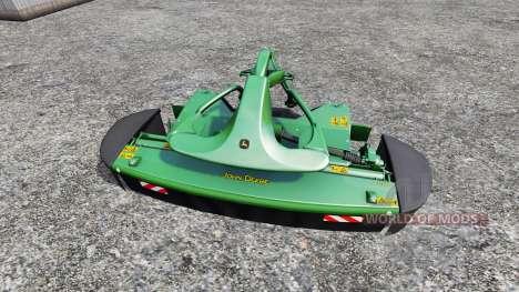 John Deere F310R и R870R pour Farming Simulator 2015