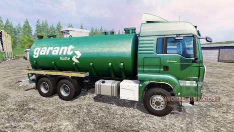 MAN TGS 18.440 [zubringer] pour Farming Simulator 2015