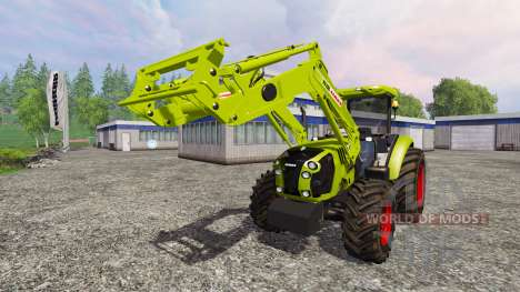 CLAAS Arion 650 FL [ensemble] pour Farming Simulator 2015