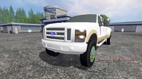 Ford F-350 2009 King Ranch für Farming Simulator 2015
