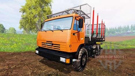 KamAZ-45143 [Holz] für Farming Simulator 2015