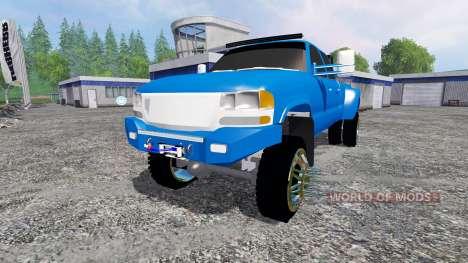 GMC Sierra 3500 2006 v3.0 pour Farming Simulator 2015