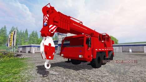 Liebherr LTM 1090 Sapeur Pompiers v1.2 für Farming Simulator 2015