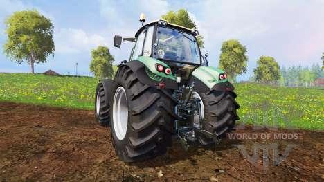 Deutz-Fahr Agrotron 7250 Warrior v8.0 pour Farming Simulator 2015