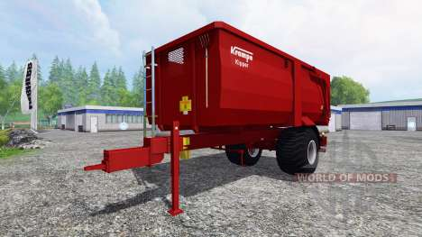 Krampe BBE 600 pour Farming Simulator 2015