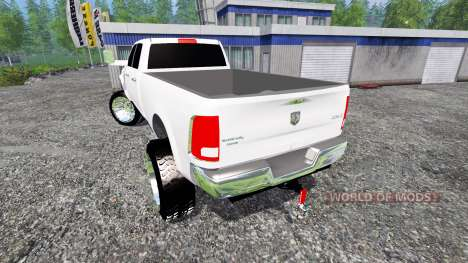 Dodge Ram 3500 2015 Crew Cab pour Farming Simulator 2015
