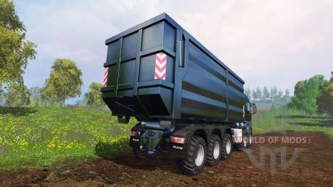 MAN TGS [container truck] v1.6.3 pour Farming Simulator 2015