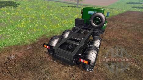 KrAZ-255 B1 v1.1 für Farming Simulator 2015