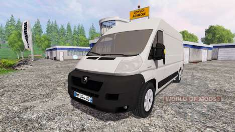 Peugeot Boxer für Farming Simulator 2015