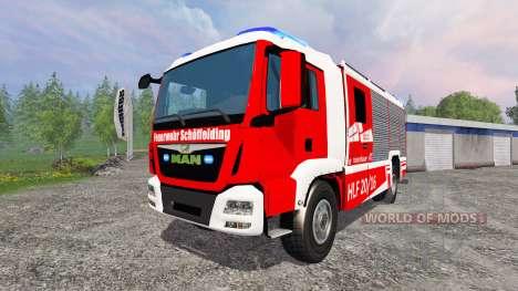 MAN TGM [firefighter] für Farming Simulator 2015