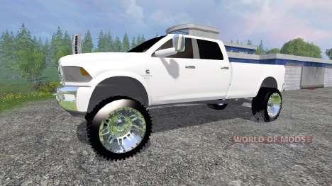 Dodge Ram 3500 2015 Crew Cab für Farming Simulator 2015