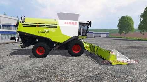 CLAAS Lexion 780 v1.4.1 pour Farming Simulator 2015
