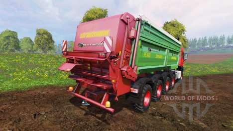 MAN TGS 10x8 [manure] v1.2 für Farming Simulator 2015