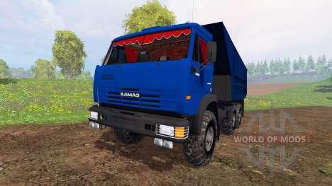 KamAZ-65115 v4.0 pour Farming Simulator 2015