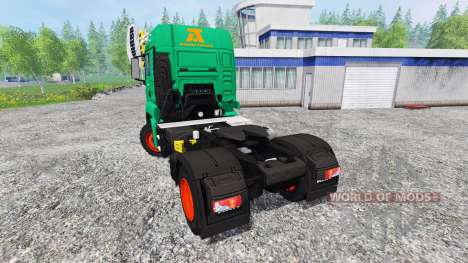 MAN TGS Aguas-Tenias für Farming Simulator 2015