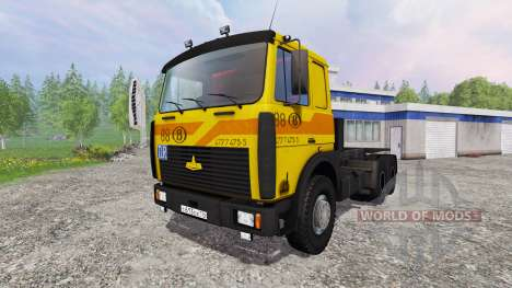 MAZ-5516 [build] v3.0 für Farming Simulator 2015