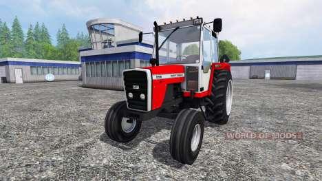 Massey Ferguson 698 v2.0 pour Farming Simulator 2015